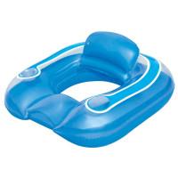 BESTWAY 43097 Italtartós felfújható úszófotel 102x94 cm - Kék