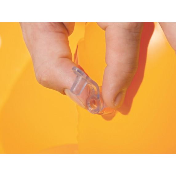 Felfújható bébi úszógumi 76x76 cm BESTWAY 32050 Swimm Safe ABC