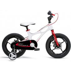 """ROYALBABY Super Rower SPACE SHUTTLE RB16-22 16"""" Gyerek bicikli - fehér Előnézet"""