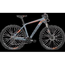 """KROSS hegyi kerékpár LEVEL 4.0 18"""" M 2020 - Szürke/narancssárga Előnézet"""