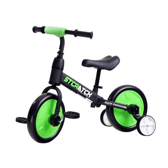 Inlea4Fun STCRATCK Gyerekjármű 3az1-ben - zöld