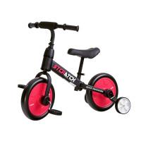 Gyerekjármű bicikli és futóbicikli 3az1-ben Inlea4Fun STCRATCK - piros
