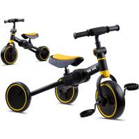Tricikli és futóbicikli 3az1-ben TINY BIKE - sárga
