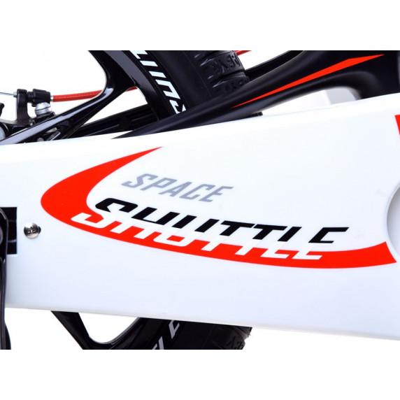 """Gyerek bicikli ROYALBABY Rower 14"""" Space Shuttle RB14-22 + szülőkar - fekete"""