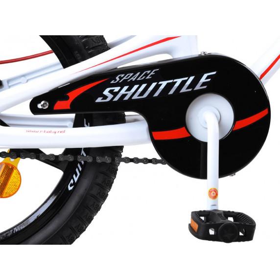 "Gyerek bicikli ROYALBABY Rower 18"" Space Shuttle RB18-22  - fehér"