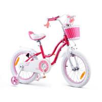 "Gyerek bicikli ROYALBABY Star Girl 16"" RB16G-1 - rózsaszín"