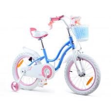 "Gyerek bicikli ROYALBABY Star Girl 16"" RB16G-1 - kék Előnézet"