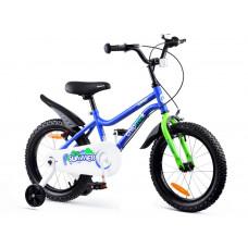 """Gyerek bicikli ROYALBABY Chipmunk MK 16"""" CM16-1 -  kék Előnézet"""