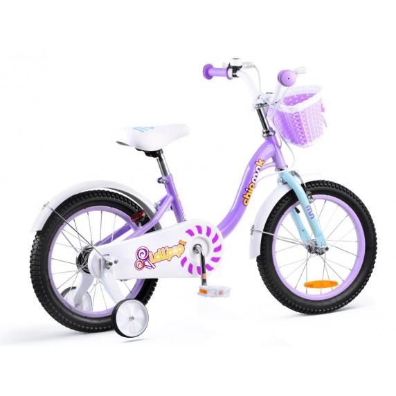 """Gyerek bicikli ROYALBABY Chipmunk MM 16"""" CM16-2 - lila"""