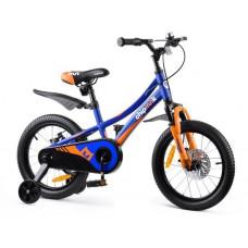 """Gyerek bicikli ROYALBABY Explorer 16"""" CM16-3 - Kék Előnézet"""
