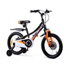 """Gyerek bicikli ROYALBABY Explorer 16"""" CM16-3 - fekete/narancssárga Előnézet"""