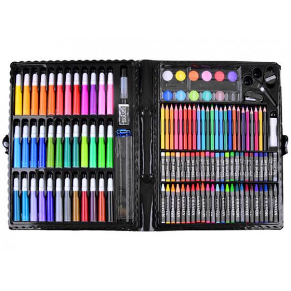 Rajz- és festőkészlet 150 darabos Inlea4Fun ART SET