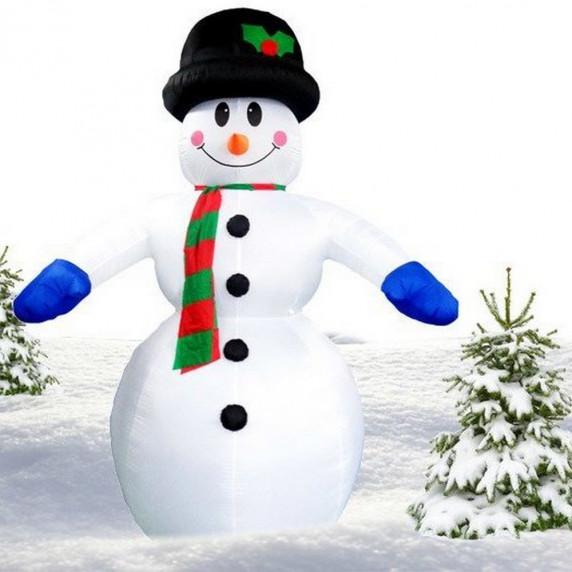 Inlea4Fun felfújható hóember - 350 cm