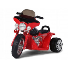 Elektromos kismotor Chopper PA0116 - Piros Előnézet