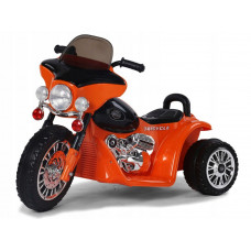 Elektromos kismotor Chopper PA0116 - Narancssárga Előnézet