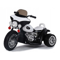 Elektromos kismotor Chopper PA0116 - Fehér