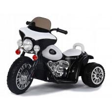 Elektromos kismotor Chopper PA0116 - Fehér Előnézet