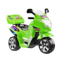 Elektromos kismotor LED világítással Inlea4Fun - zöld