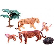 Inlea4Fun Állatfigurák Tigris család Előnézet