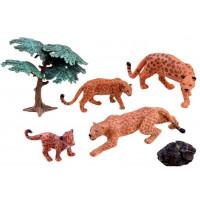 Állatfigurák Leopárd család Inlea4Fun
