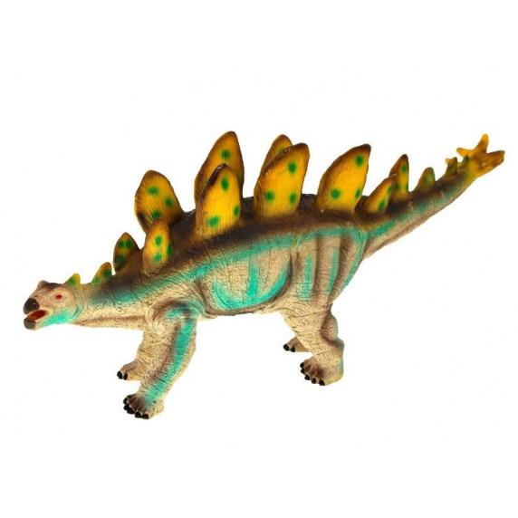 Dinosaurusz figura - Sztegoszaurusz pöttyös taréjjal Inlea4Fun