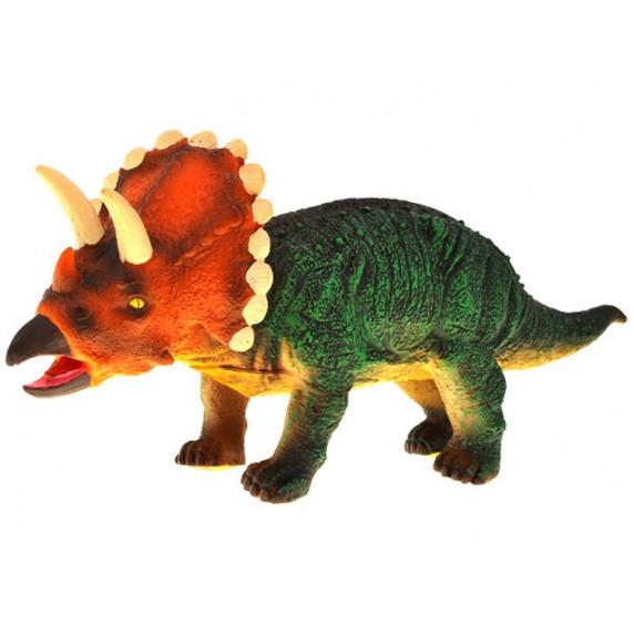 Dinosaurusz figura Triceratops Inlea4Fun