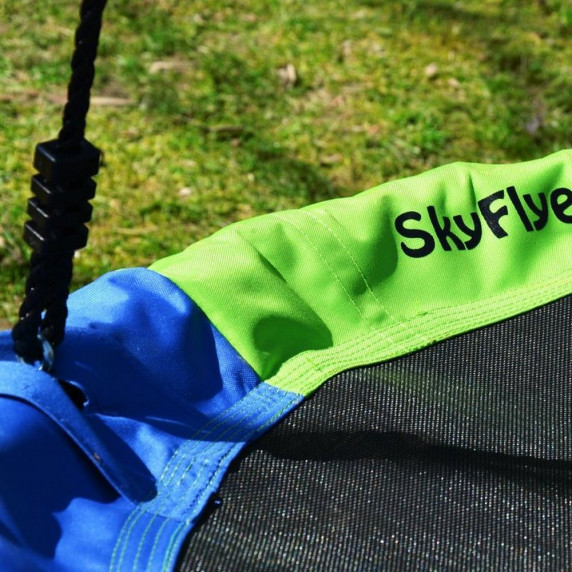 SkyFlyer fészekhinta 100 cm - színes