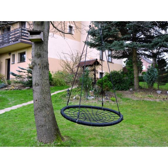 Fészekhinta Inlea4Fun 120 cm - fekete