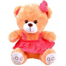 Plüss lány medve szoknyában Inlea4Fun 30 cm - barna Előnézet
