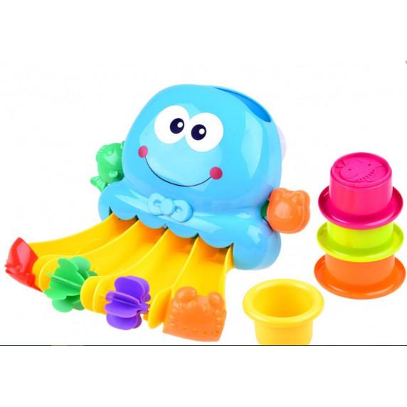 Polip fürdőjáték Inlea4Fun Bath Toys