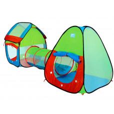 Inlea4Fun Tent with Tunel játszóház alagúttal és gyereksátorral