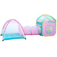 Inlea4Fun Tent play with tunnel játszóház alagúttal és gyereksátorral