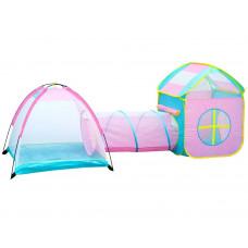 Inlea4Fun Tent play with tunnel játszóház alagúttal és gyereksátorral Előnézet