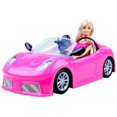 Kabrió játék autó babával Inlea4Fun ANLILY Előnézet