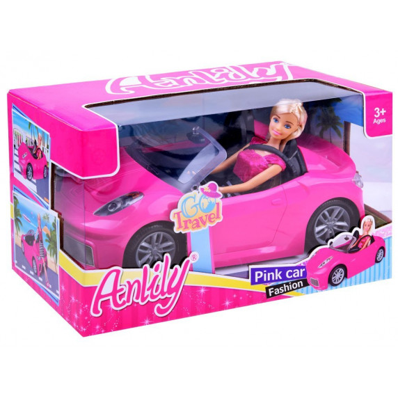 Kabrió játék autó babával Inlea4Fun ANLILY