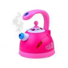 Játék teaforraló fény- és hangeffektekkel Inlea4Fun SWEET HOME - rózsaszín Előnézet