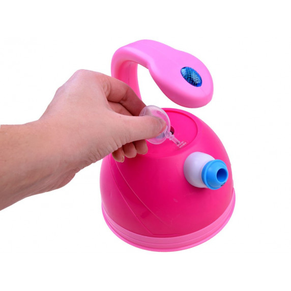 Játék teaforraló fény- és hangeffektekkel Inlea4Fun SWEET HOME - rózsaszín