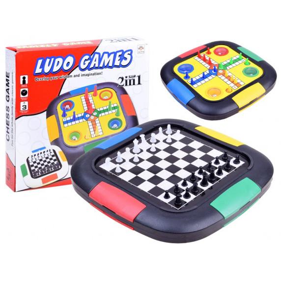Inlea4Fun LUDO GAMES 3az1-ben társasjáték