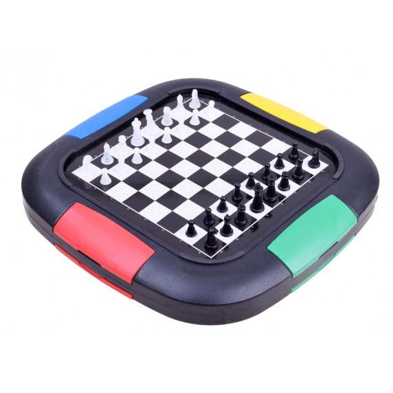Társasjáték 3az1-ben Inlea4Fun LUDO GAMES
