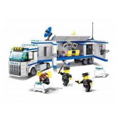 Építőjáték Rendőr állomás 395 db Inlea4Fun POLICE Előnézet