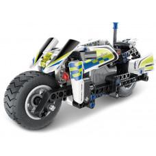 Építőjáték Rendősrégi motor Inlea4Fun MECHANICAL MASTER POLICE 193 darabos  Előnézet