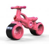 Inlea4Fun BABY RIDE ON RO0063 lábbal hajtós kismotor - rózsaszín