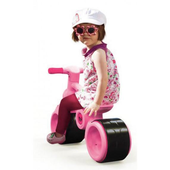 Lábbal hajtós kismotor Inlea4Fun BABY RIDE ON RO0063 - rózsaszín
