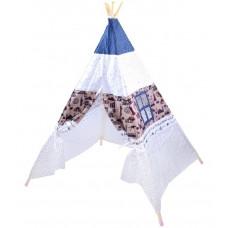 Inlea4Fun TENT HOUSE gyerek sátor - indián Előnézet