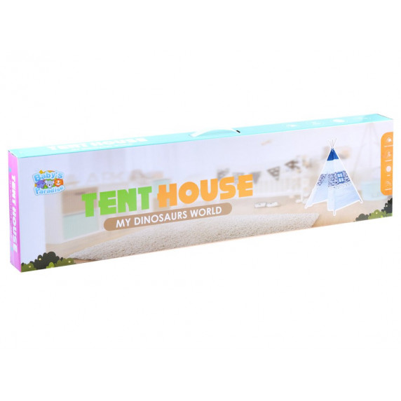 Inlea4Fun TENT HOUSE gyerek sátor - indián