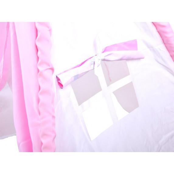 Gyerek sátor Inlea4Fun TENT HOUSE - egyszarvú rózsaszín