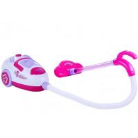 Játék porszívó Inlea4Fun SWEET HOME - fehér/rózsaszín