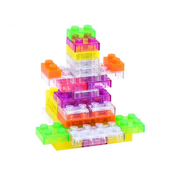 Világítós építőkockák Inlea4Fun ELECTRONIC BLOCKS 37 darabos