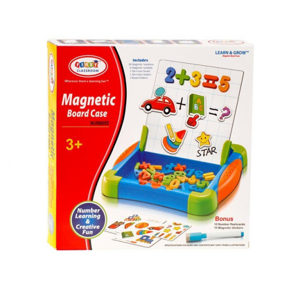 Mágnes táblás műanyag doboz Inlea4Fun MAGNETIC BOARD CASE