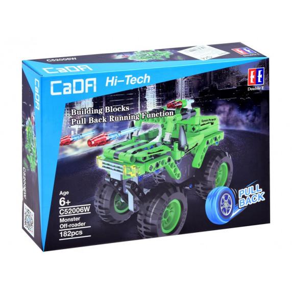 Inlea4Fun CaDFI Hi-Tech Monster Építőjáték 182 darabos